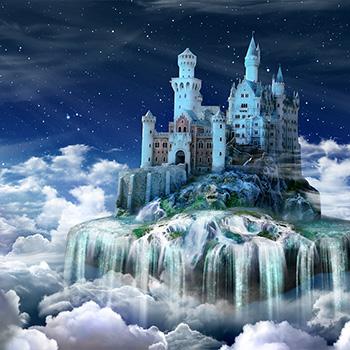 Fairytale castle2 background FOTOKÚTIK.sk - PHOTOBOOTH.sk