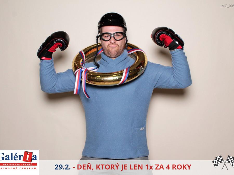 29.2.2016 | Deň, ktorý je 1x za 4 roky, OC Galéria Bratislava