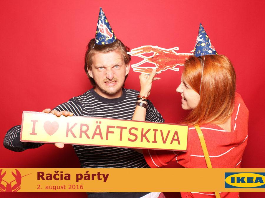 2.8.2016   Kräftskiva - Račia Párty, IKEA Bratislava