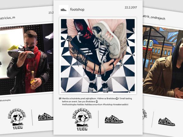 23.2.2017 | adidas CONSORTIUM TOUR, Footshop, Bratislava