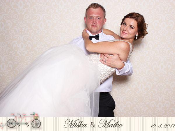 19.8.2017   Svadba Miška & Maťko, Hotel Tatra Inn, Čadca