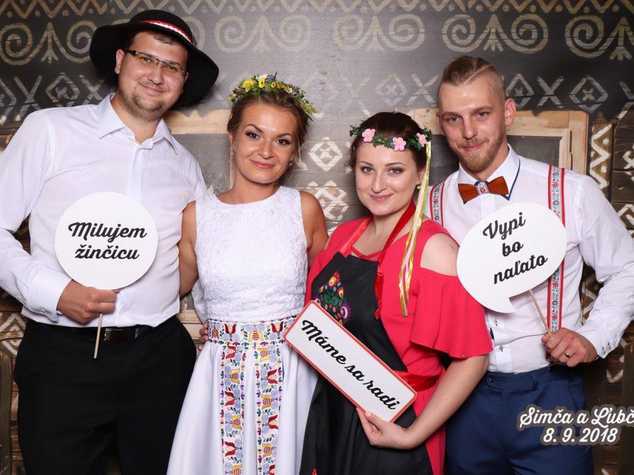 8.9.2018 | Svadba Simča & Ľubči, Kultúrny Dom, Streženice
