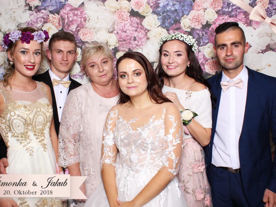 20.10.2018 | Svadba Simonka & Jakub, Hotel Marlene, Oščadnica
