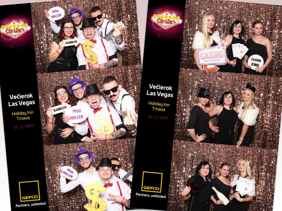 """12.01.2019   GEFCO Večierok Las Vegas """"GOLD"""", Holiday Inn, Trnava"""