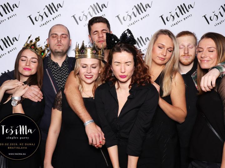 Chránené heslom: 09.02.2019 | TešíMa singles party, KC Dunaj, Bratislava
