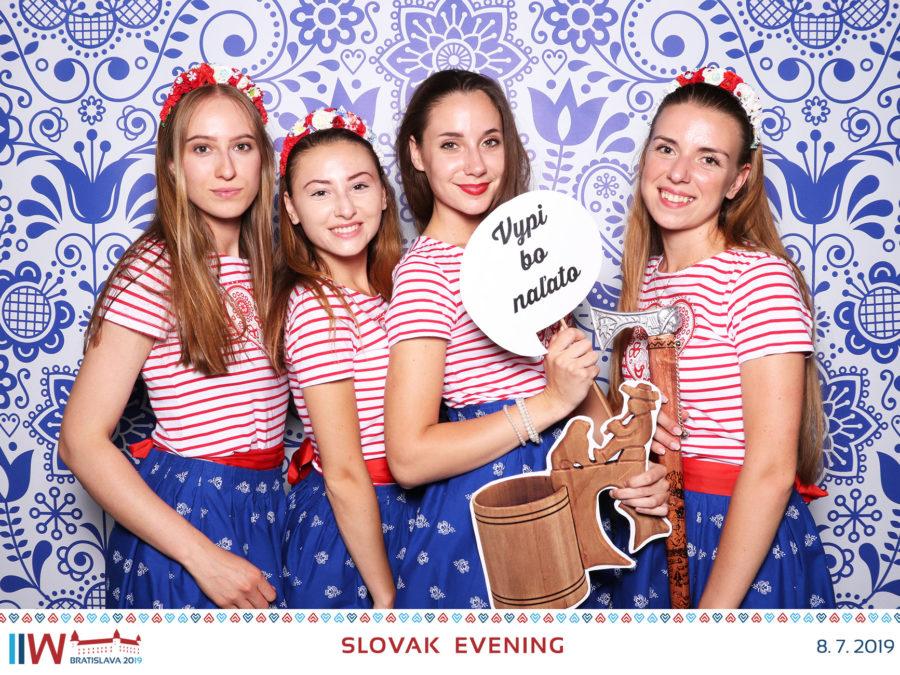 08.07.2019 | SLOVAK EVENING, IIW 2019, Stará Tržnica, Bratislava