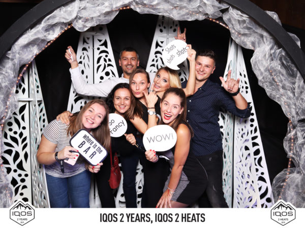 18.10.2019 | IQOS - 2 YEARS, 2 HEATS, Happy end, Jasná