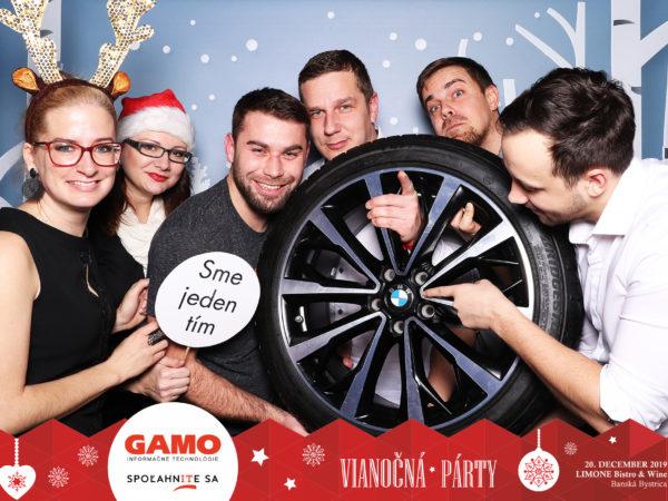 20.12.2019   Vianočná párty GAMO, LIMONE Bistro & Wine, Banská Bystrica