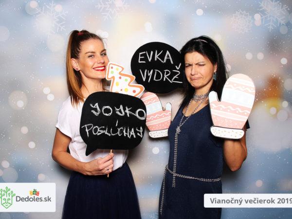 20.12.2019   DEDOLES Vianočný večierok 2019, Hotel Vinársky dom, Pezinok