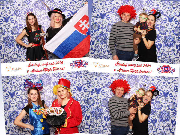 31.12.2019   Šťastný nový rok 2020, Atrium Hotel, Vysoké Tatry