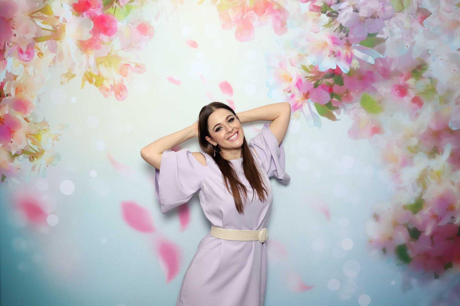 fotostena prenajom cherry blossom fotokutik fotopozadie svadba FOTOKÚTIK.sk