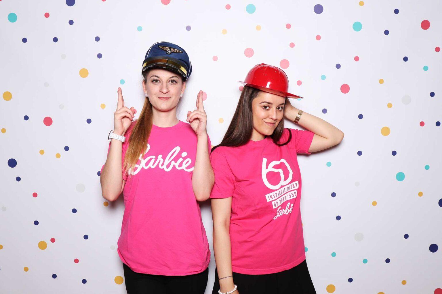 Barbie fotokútik Mattel - fotobox Žilina - fotobúdka na event.