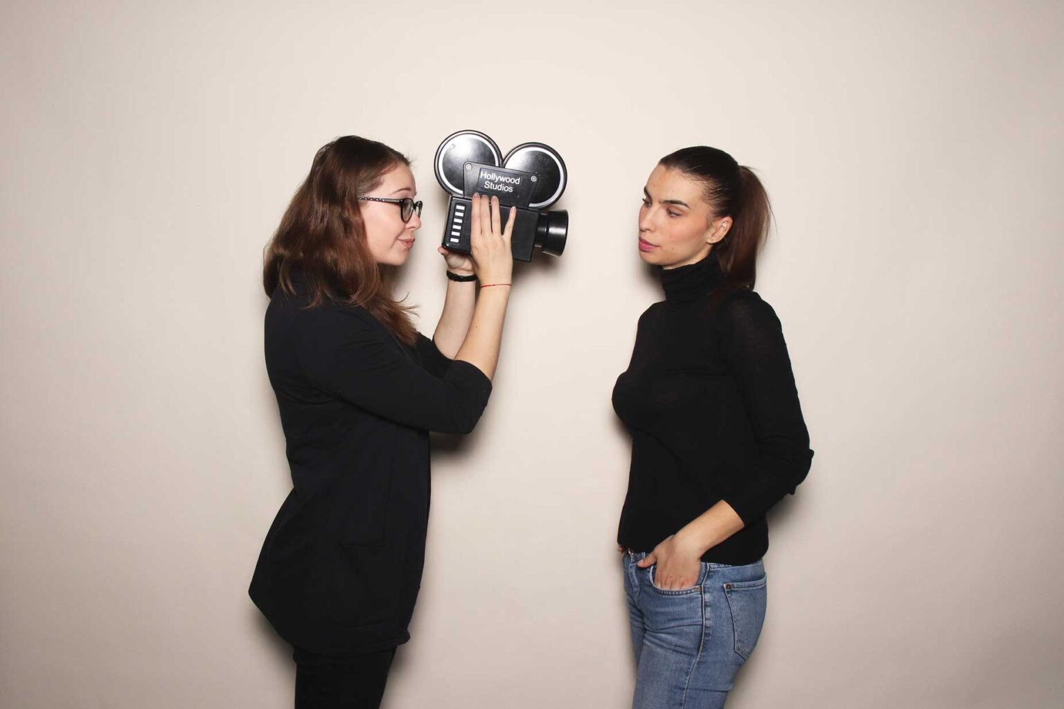 Filmový fotokútik - firemná akcia - fotobox Žilina.