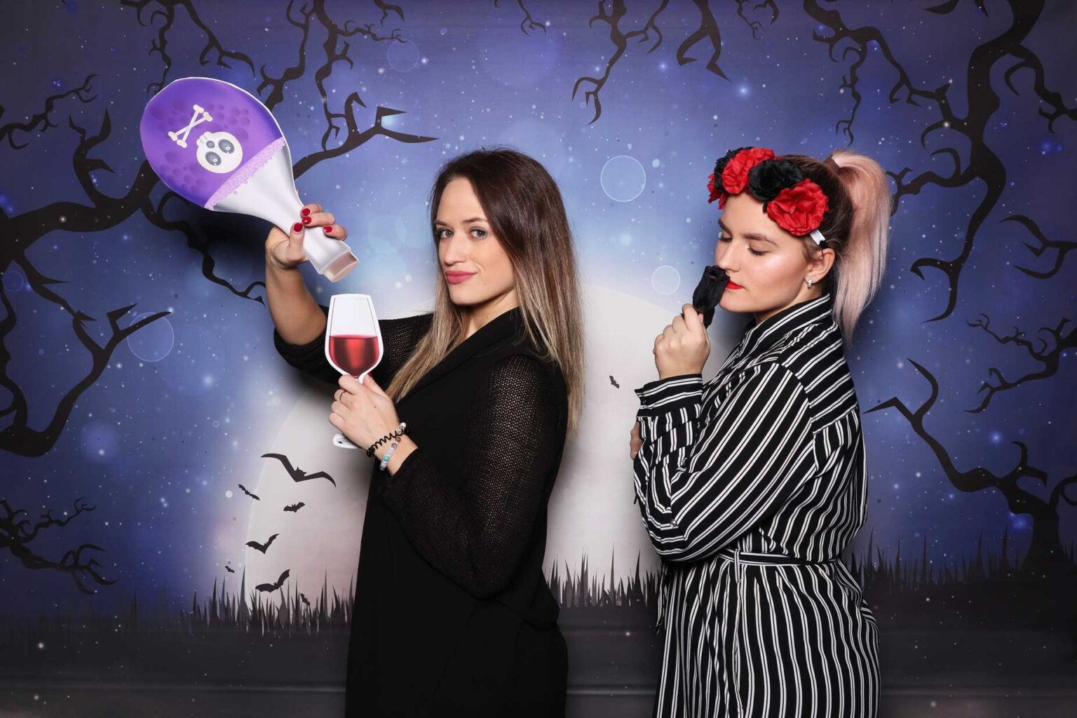 Fotokútik Halloween - maškarný ples - fotobox Bratislava.