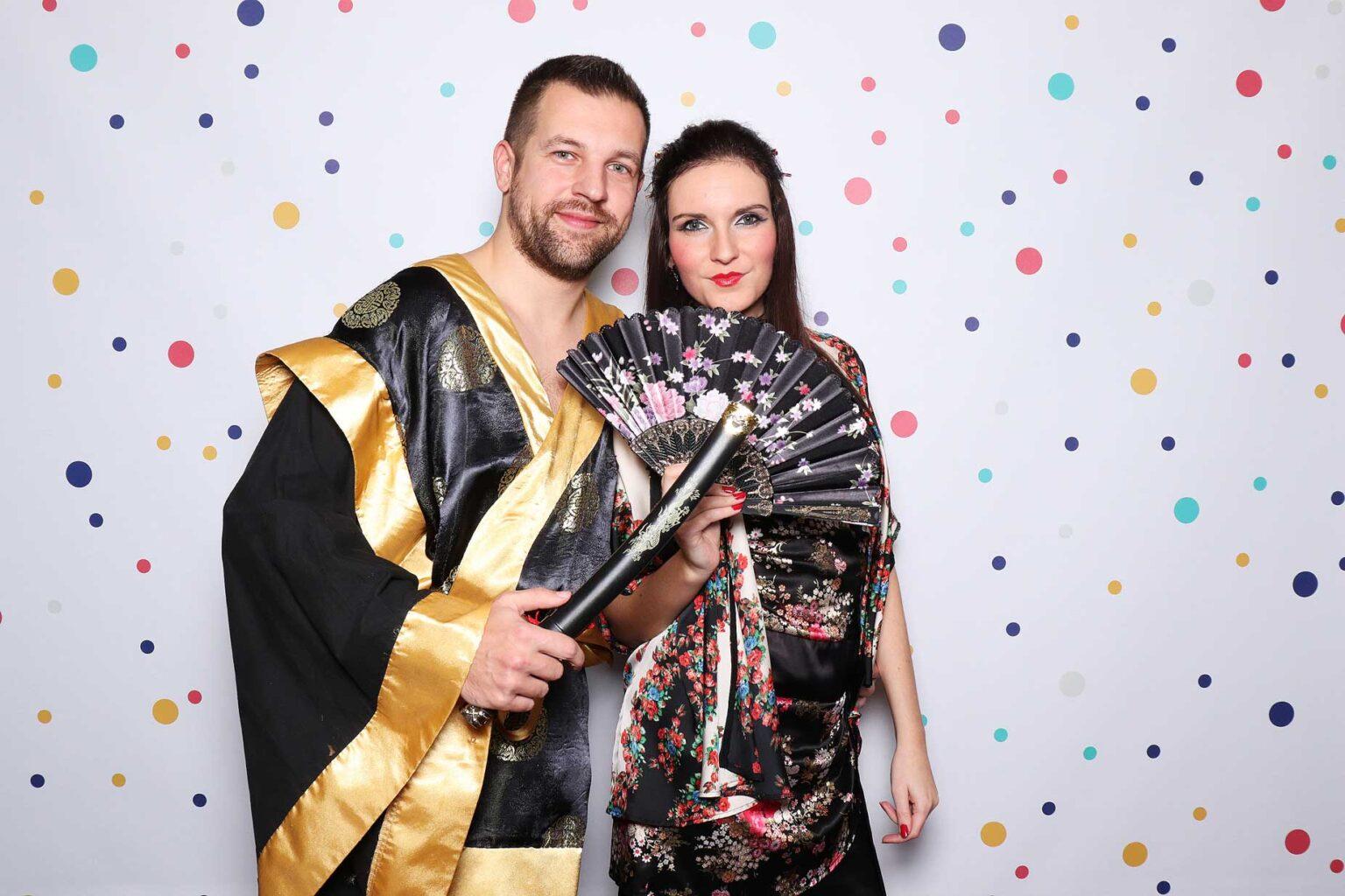 Fotokútik na maškarný ples, karneval - fotobúdka event.