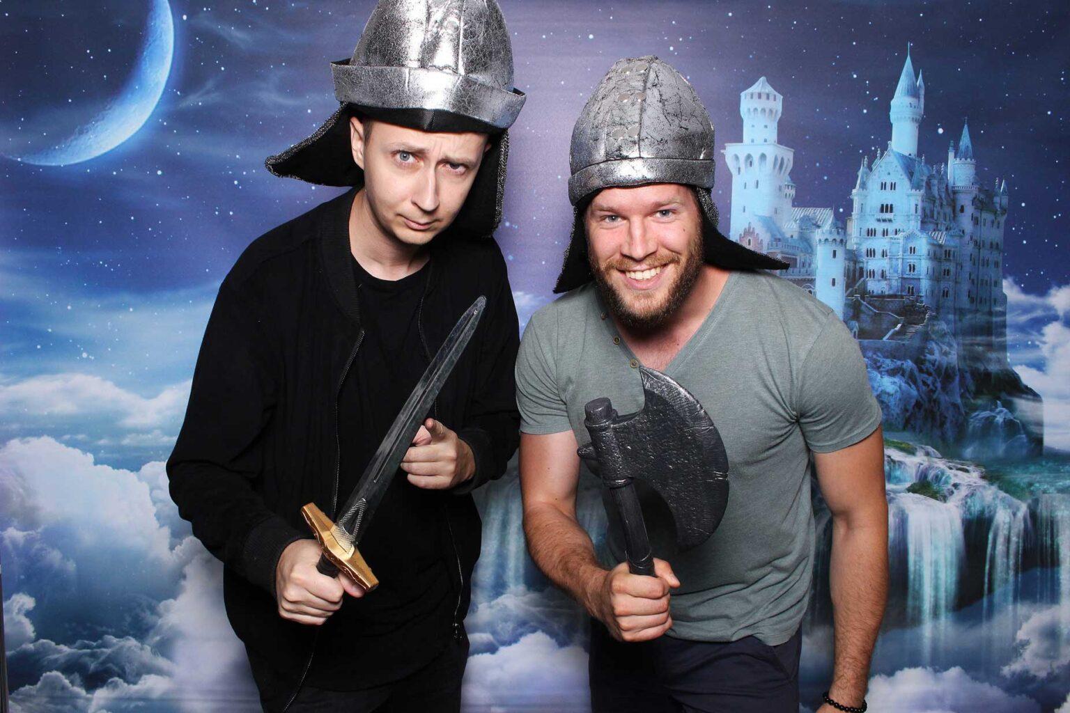 Fotokútik rozprávkový hrad - pozadie Fairytale castle.
