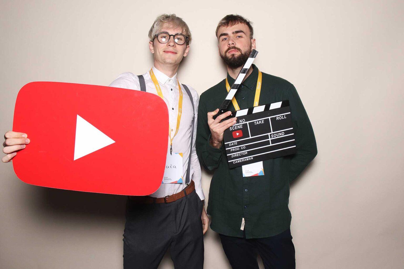 Fotokútik - youtube google fotobox - prenájom, konferencia Bratislava.