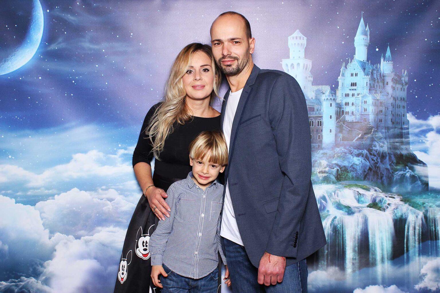 Fotostena fantasy fotokútik - rozprávkový hrad.