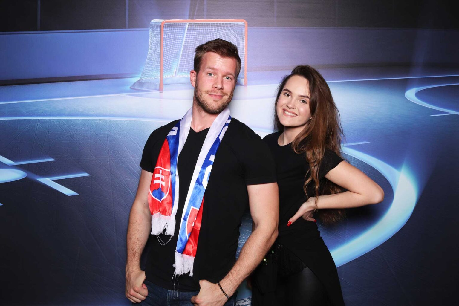 Fotostena - Ice hockey - hokejova - fotokútik Žilina - rekvizity.