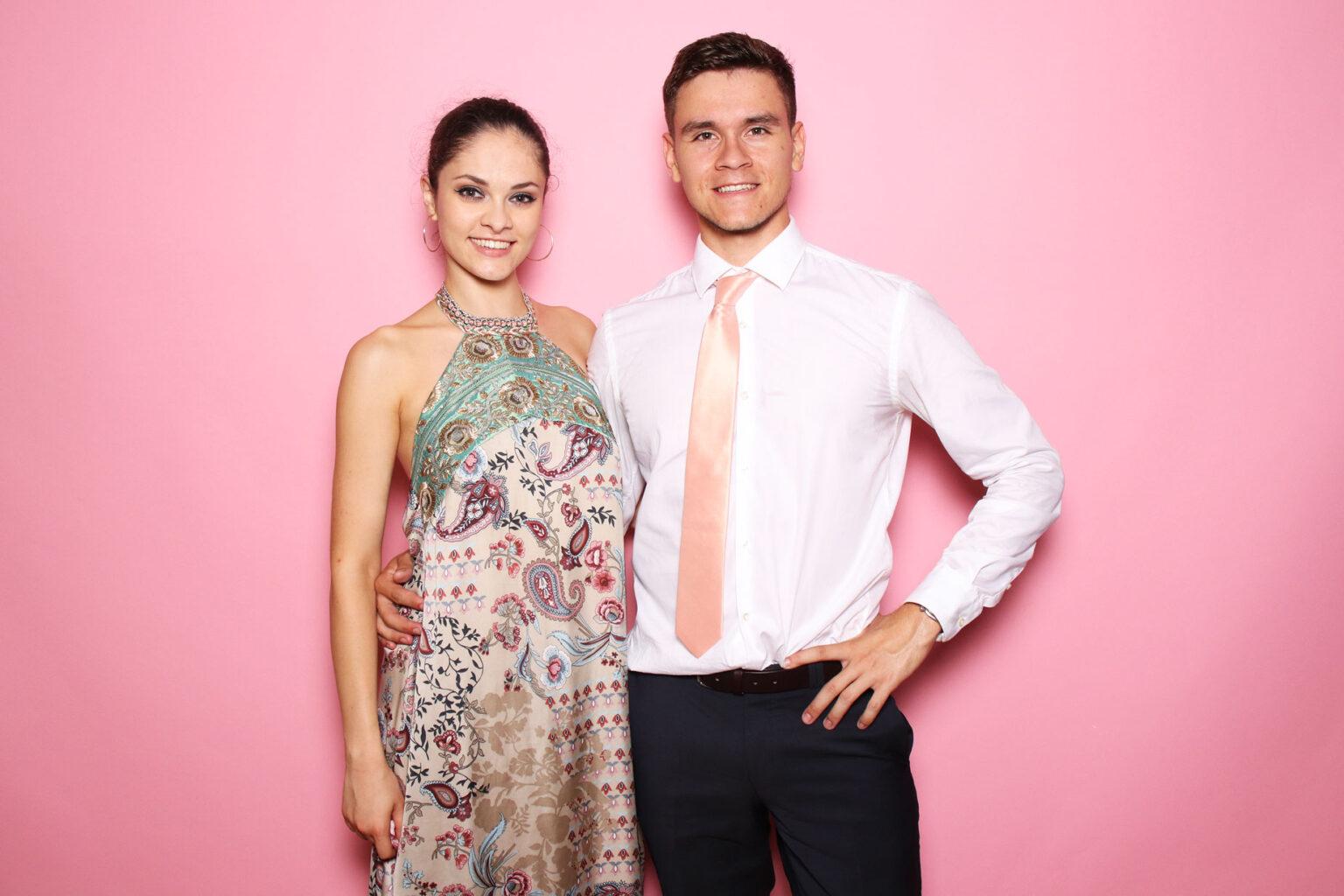 Fotostena Smoothie pink - ružová - fotopozadie na svadbu, oslavu - fotokútik