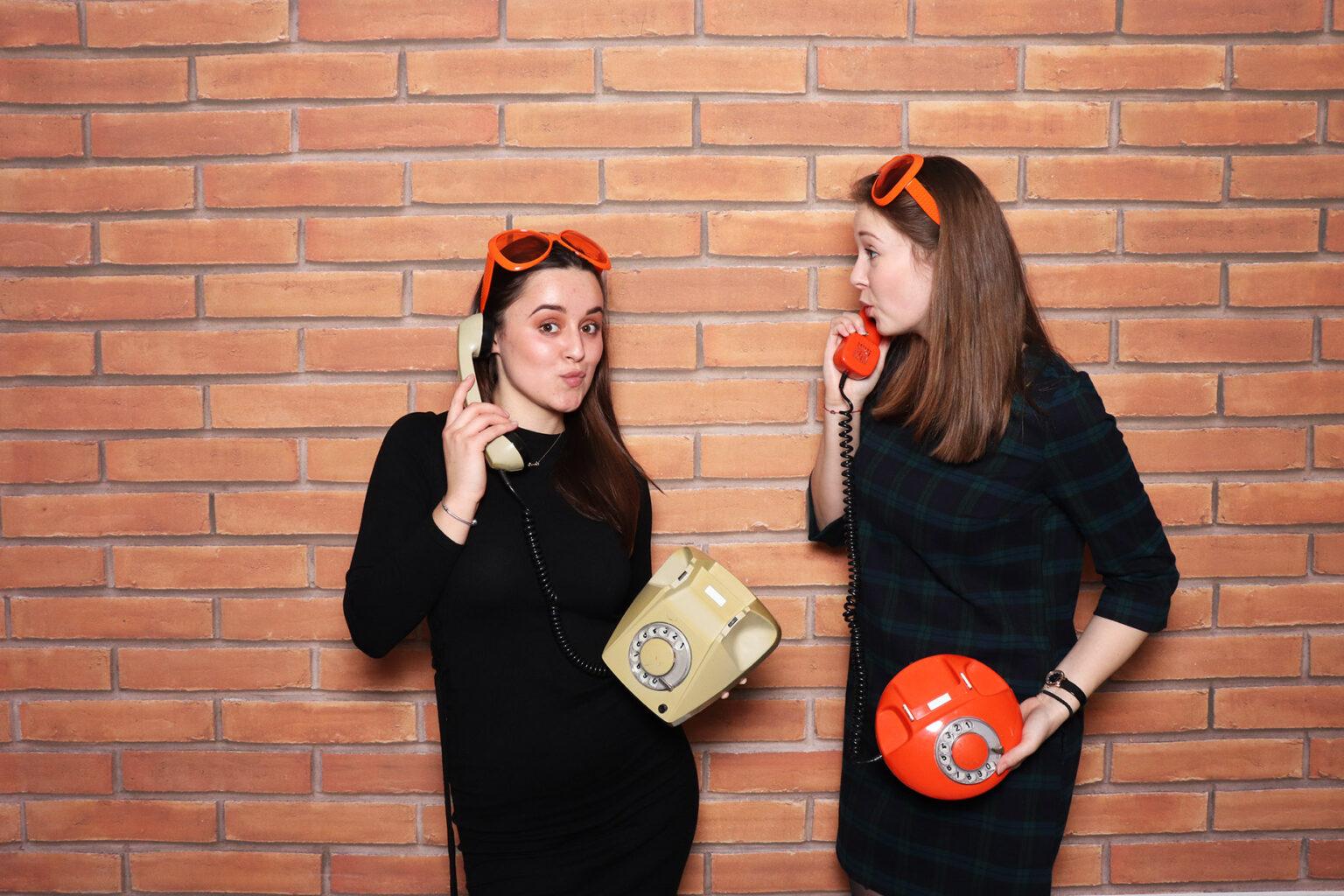 Retro telefóny - fotokútik socialistický - fotobox Bratislava.