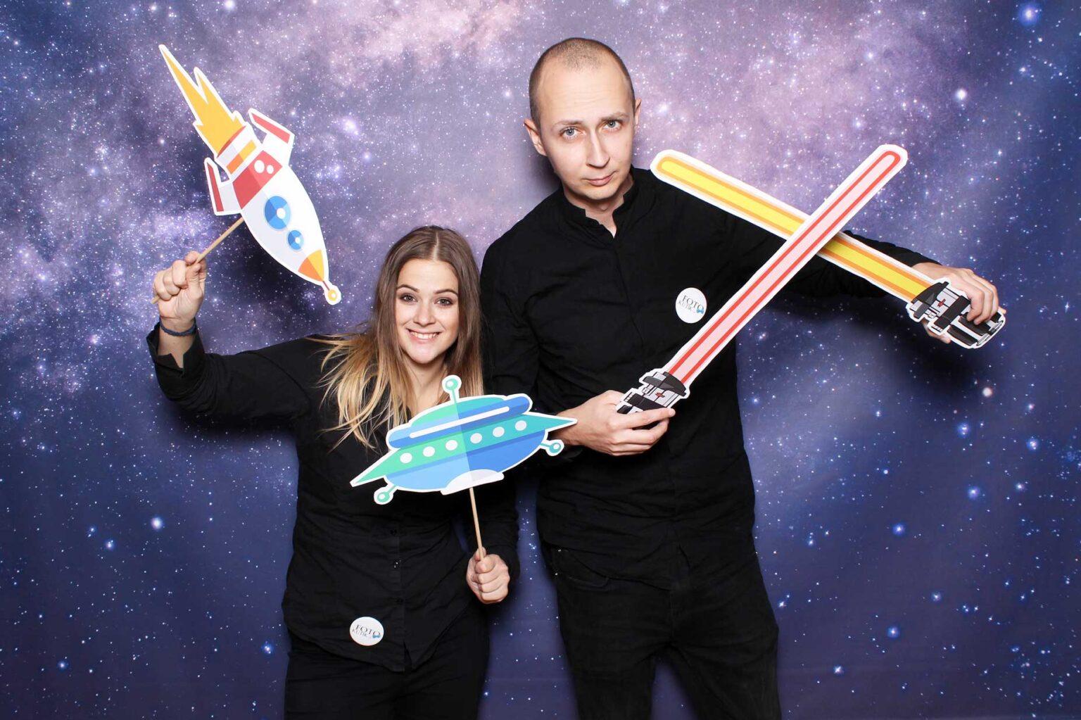 Vesmírne rekvizity - fotokútik na firemný večierok - Star wars.