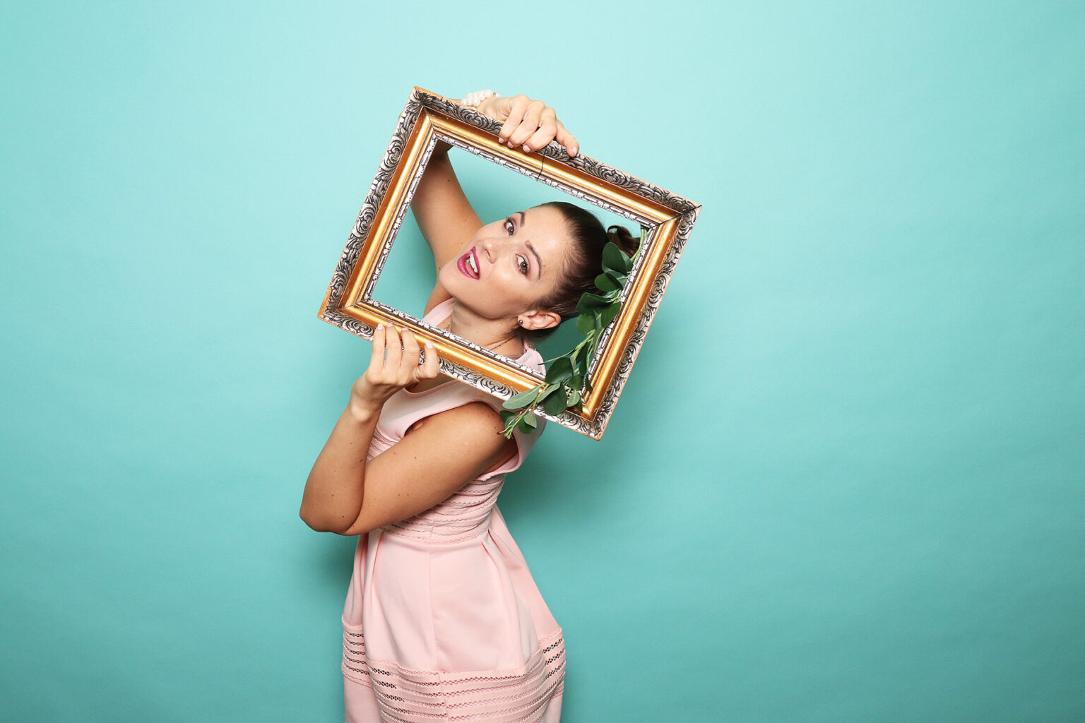 Fotokútik - fotopozadie Tiffany - fotobox prenájom na oslavu.