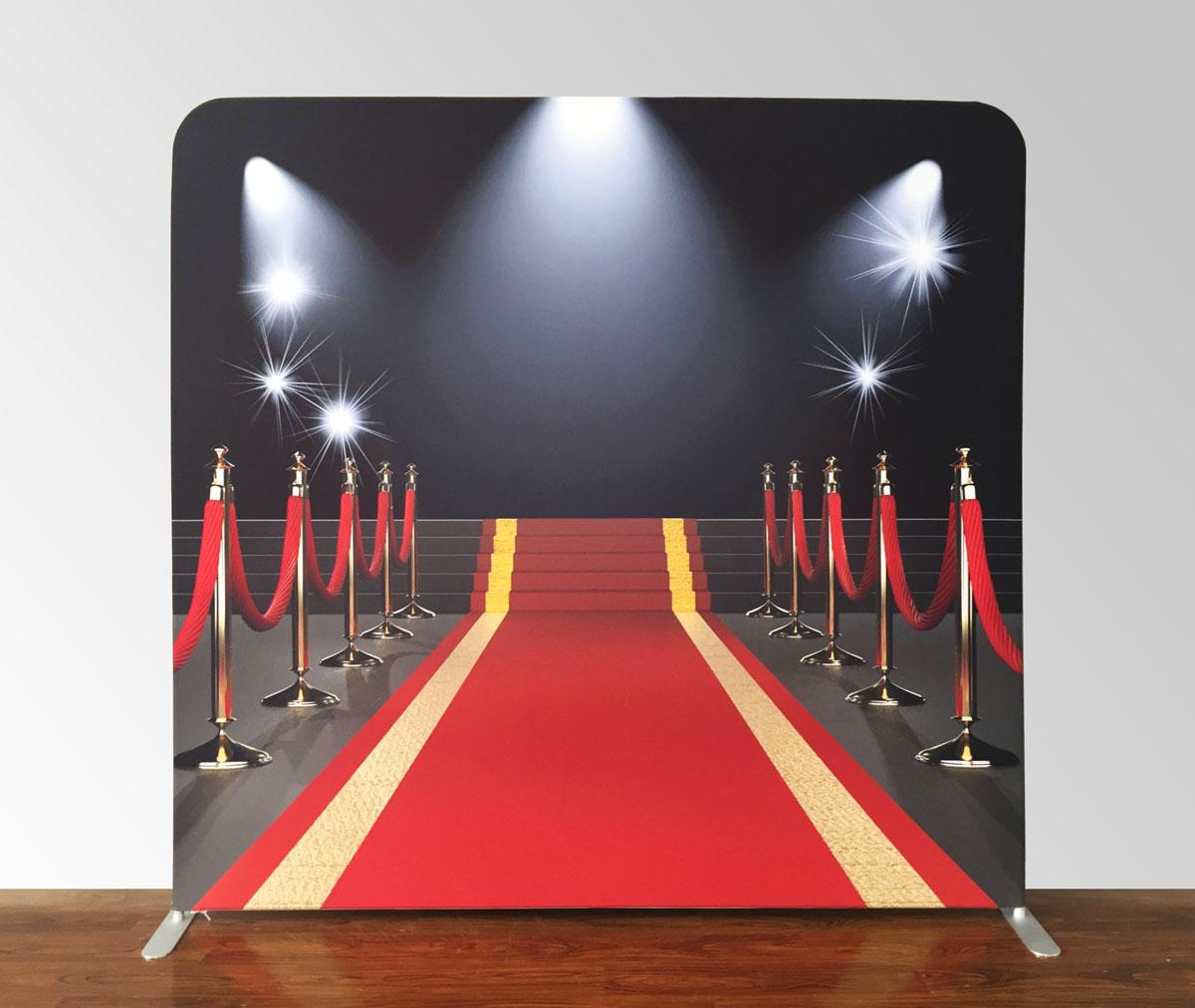 Fotostena Červený koberec - firemná párty - fotokútik na prenájom.