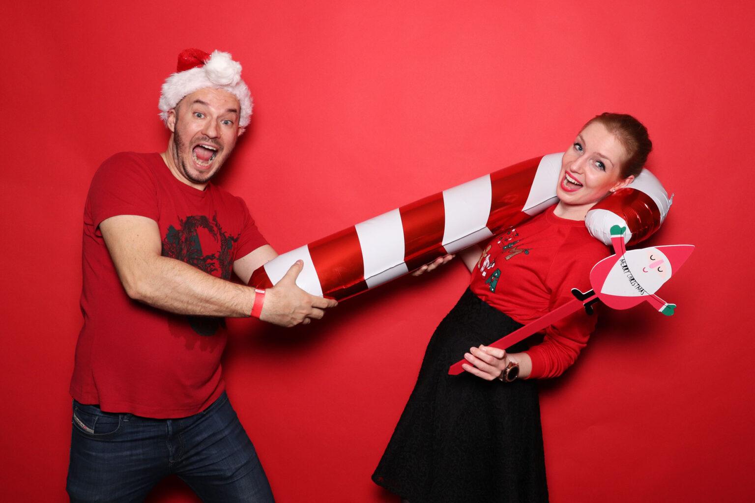 Vianočná párty - Centrálna klubovňa Bratislava - fotobox prenájom.