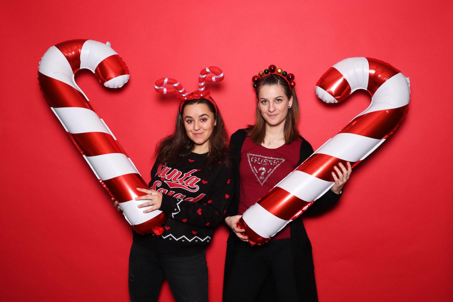 Vianočný event - fotobúdka prenájom - fotokútik Žilina.