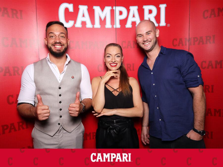 Fotokútik Bratislava - event Campari - Gatto Matto.