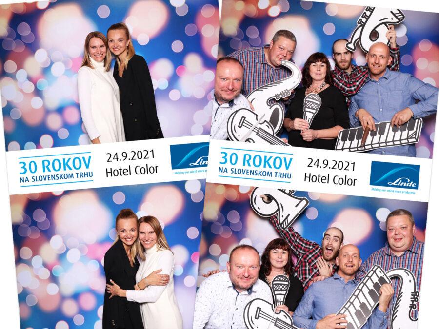 Fotokútik firemný večierok Hotel Color - Bratislava.